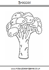 Fruit And Vegetable Colouring Sheets Kids Puzzles And Games