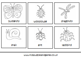 Minibeasts Colouring Sheets Kids Puzzles And Games