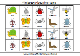 Minibeast Games on Minibeast Counting 1