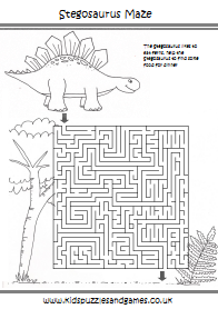Dinosaurs Kids Puzzles And Games