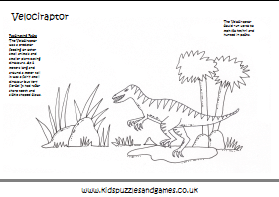 Dinosaurs Colouring Sheets Kids