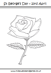 rose coloring pages games free - photo#50
