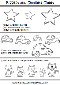 Pre School Worksheets Kids Puzzles And Games