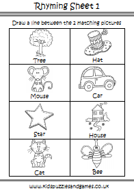 Pre School Worksheets - Kids Puzzles and Games