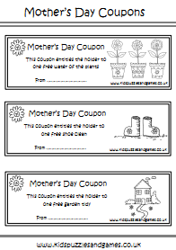 Mother S Day Uk Kids Puzzles And Games