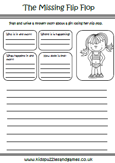 Summer Worksheets - Kids Puzzles and Games