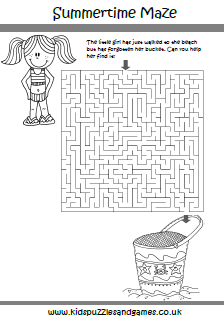 Summer Mazes - Kids Puzzles and Games