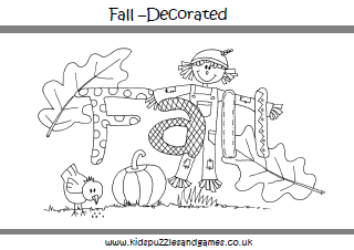Autumn Fall - Kids Puzzles and Games