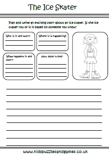 Winter Worksheets - Kids Puzzles and Games