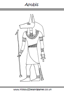colouring page - Ancient Egypt Mummy Coloring Pages