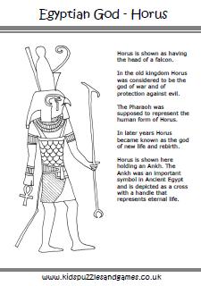 Ancient Egyptian God Horus