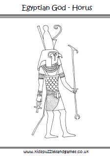 Ancient Egypt Colouring Sheets - Kids Puzzles and Games