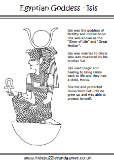 Ancient Egypt - Kids Puzzles and Games