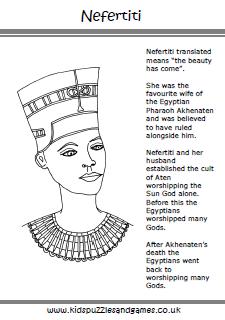 Queen Nefertiti Facts For Kids
