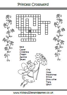 white sheet crossword