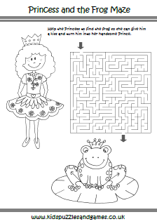 princesses kids puzzles and games