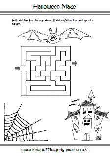 Halloween Kids Puzzles and Games