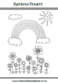 Plush Design Spring Color Sheets Pages