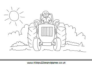 TractorFieldColouringNBThumb