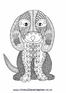 Adult Colouring Kids Puzzles and Games
