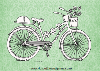 Bicycles - Kids Puzzles and Games