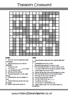 photo relating to Simple Crossword Puzzles Printable referred to as Puzzle Sheets - Crossword - Children Puzzles and Video games