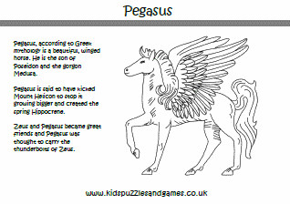 Pegasus Information Page - Kids Puzzles and Games