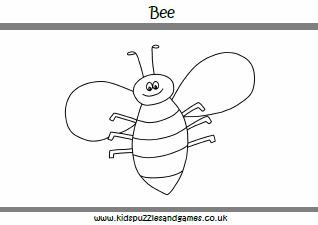 Bees - Kids Puzzles and Games
