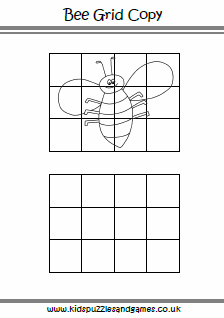 Grid Drawing Puzzles 5 Mystery Grid Drawings Art for Kids