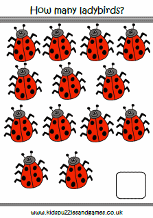 Ladybirds - Kids Puzzles and Games