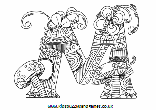 Colouring Sheets - Colouring Page - Kids Puzzles and Games