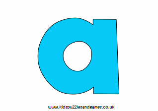 graphic about Printable Poster Letters identified as Printables - Poster - Young children Puzzles and Game titles
