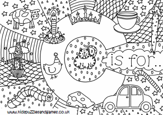c is for detailed colouringthumb